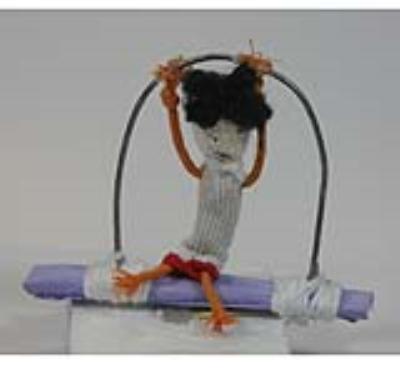 عروسک علي ورجيك (دست ساز)