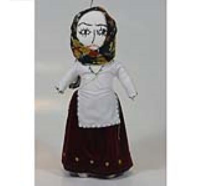 عروسک چلگره(دست ساز)