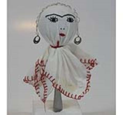 عروسک چمچه گلن (باران) (دست ساز)
