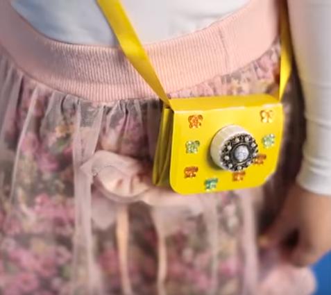 آموزش ساخت کیف دوشی برای کودک با استفاده از جعبهی شیر