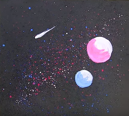 نقاشی با شیوههای غیر معمول