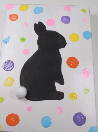 تابلو تزئینی خرگوش
