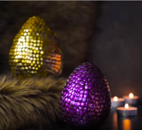 تزئین سفره عید، تخم مرغهای رنگی پونزی