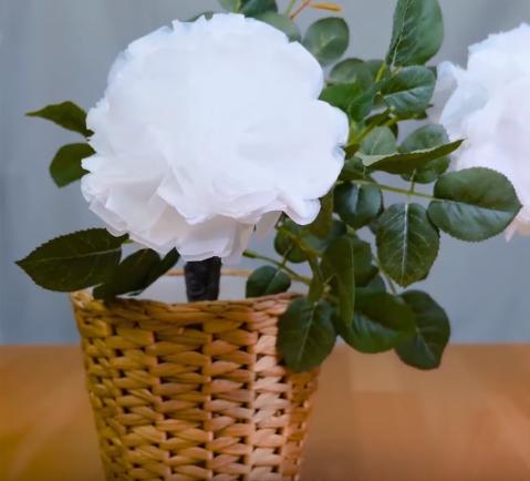 ساخت گل تزئینی