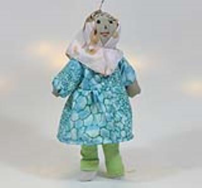 عروسک گلابتون (دست ساز)