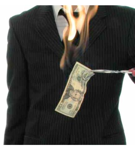پول خود را بسوزانید