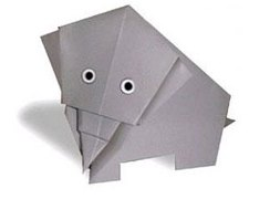 فیل اوریگامی