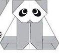 خرس پاندا اوریگامی