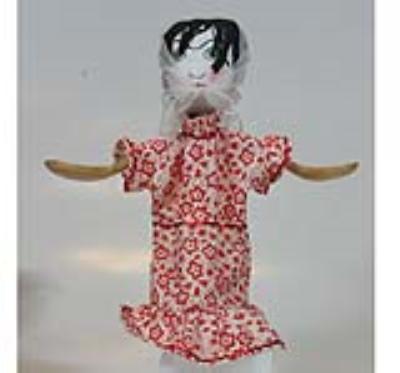 عروسك باران (چمچه خاتون)(دست ساز)