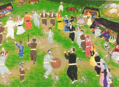 آثار اعضای کانون در دوازدهمین مسابقه بینالمللی نقاشی بلاروس 2017