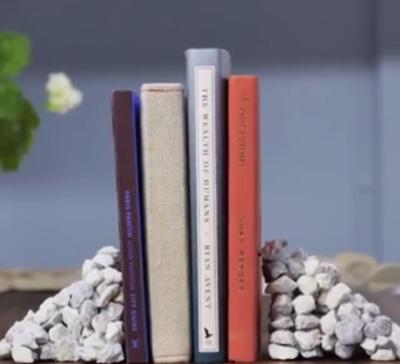 آموزش ساخت نگهدارندهی کتاب با سنگ