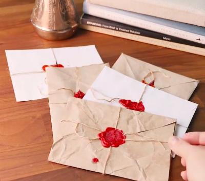 آموزش چگونگی تزئین پاکت نامه