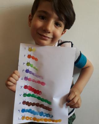 یادگیری اعداد با بازی
