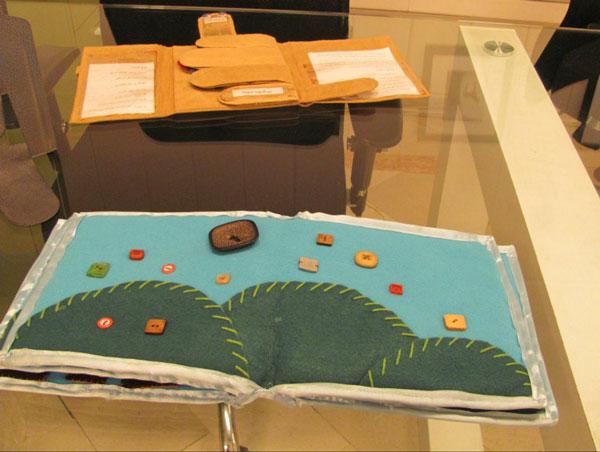 نمایشگاه کتابهای دستساز حسی- لمسی برگزار میشود