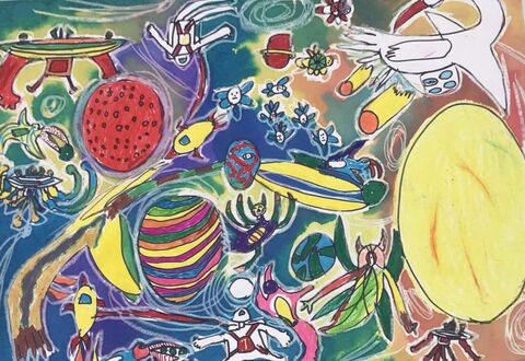 کودک نقاش ایرانی دیپلم افتخار مسابقه بنیاد صلح اسپانیا را بهدست آورد