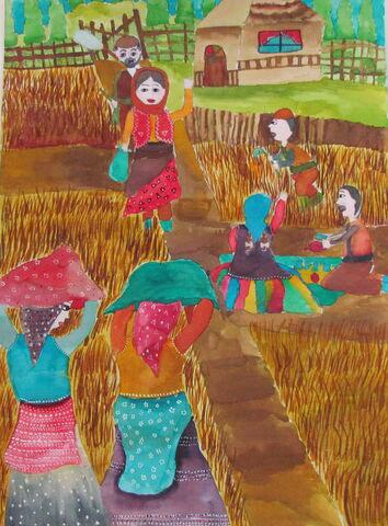 کودکان ایرانی برگزیده مسابقه نقاشی محیط زیست «جی کیو ای» کشور ژاپن شدهاند