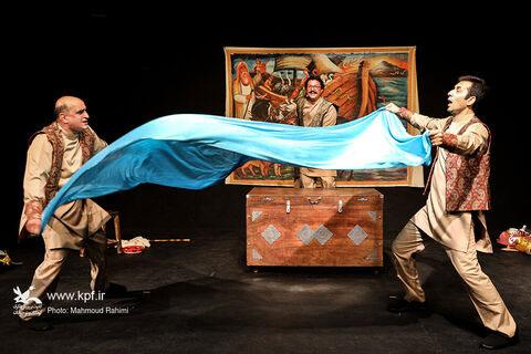 اجرای «قصههای سفر پرماجرای کشتی نوح» ویژه خبرنگاران و عکاسان