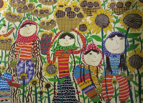 کودکان و نوجوانان ایرانی برگزیده مسابقه نقاشی هیکاری کشور ژاپن شدند