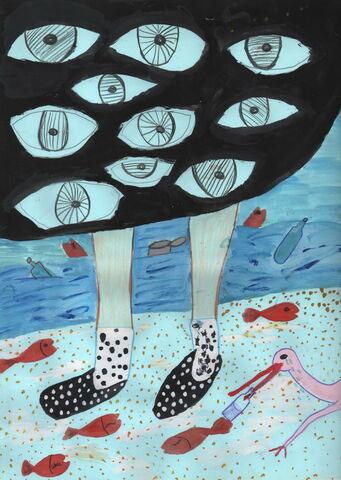 اهدای جایزه محیط زیست در توکیو به دختر ماکویی