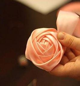 گل  رزُ روبانی