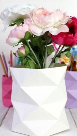 گلدان مقوایی