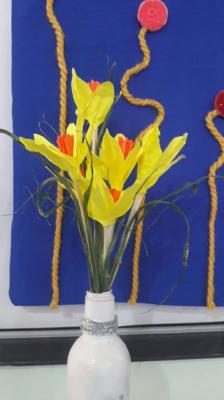 ساخت گلهای کاغذی