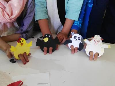 ساخت عروسکهای ساده انگشتی