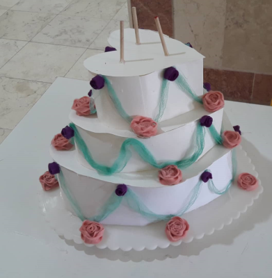 کیک کاغذی