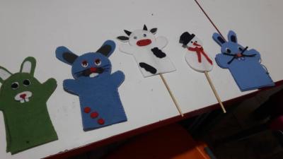 ساخت عروسک دستی بااستفاده ازنمد