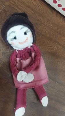 ساخت عروسک با وسایل دوریختنی