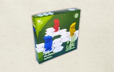 تولید بازی رومیزی «ایاز و یاران» در کانون
