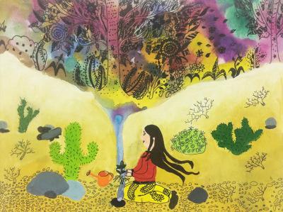 جایزه اول مسابقه بینالمللی نقاشی ژاپن به کودکان ایرانی رسید
